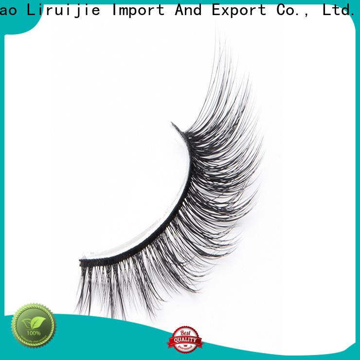 Liruijie series synthetic eyelash wholesale manufacturers for beginners
