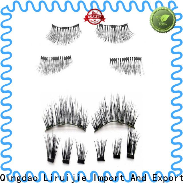 Liruijie mink eyelash extensions suppliers suppliers for round eyes