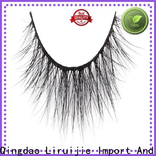 Liruijie Custom individual mink lashes wholesale company for sensitive eyes