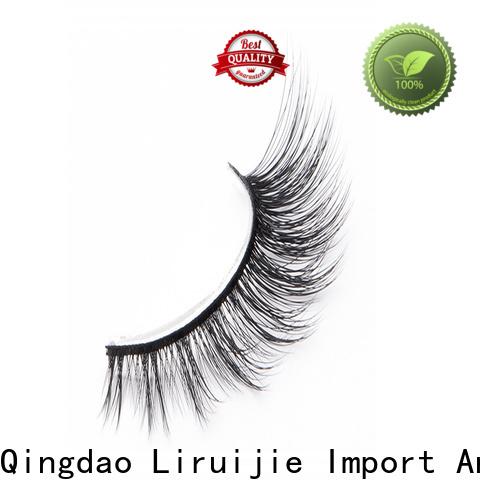 Liruijie magnetic professional false eyelashes factory for round eyes