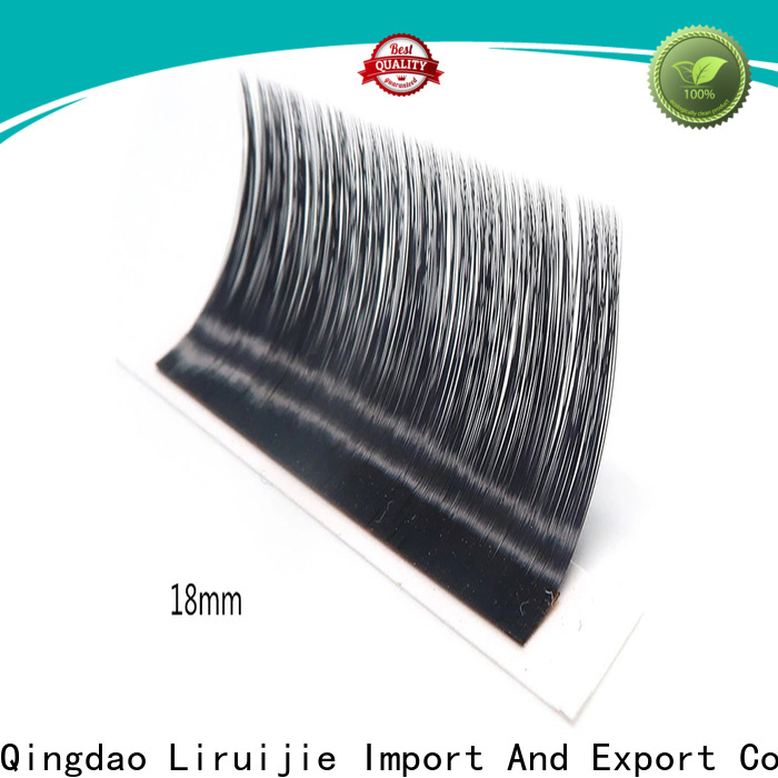 Liruijie eyelash buy individual lash extensions supply for round eyes