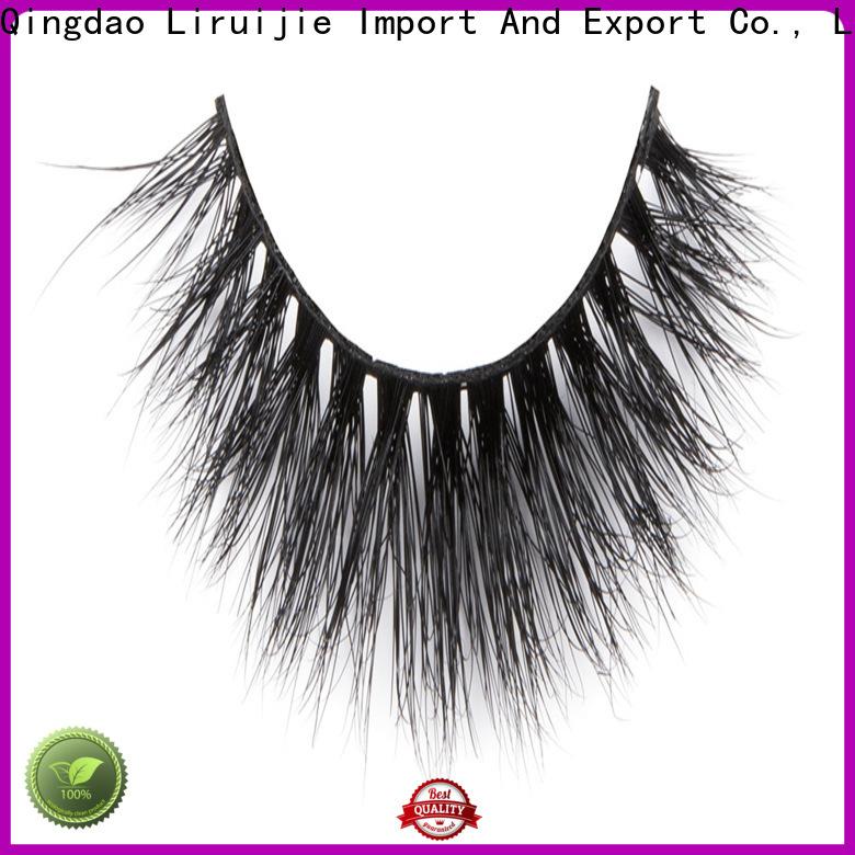 Liruijie High-quality 25mm mink eyelash for business for sensitive eyes