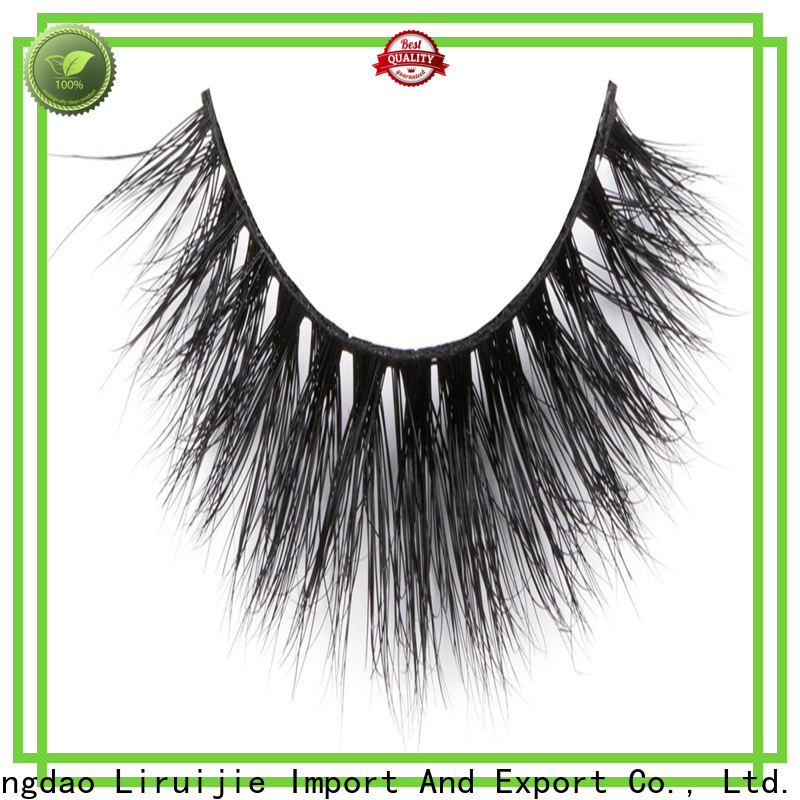 Liruijie Latest private label mink eyelashes manufacturer manufacturers for beginners