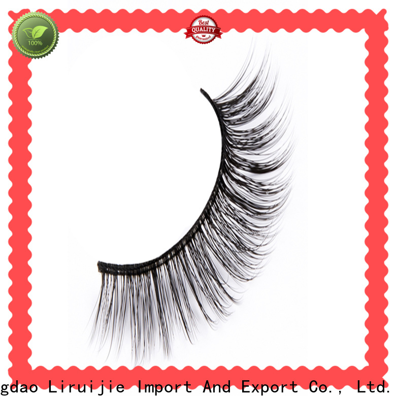 Custom synthetic eyelash suppliers wave supply for Asian eyes