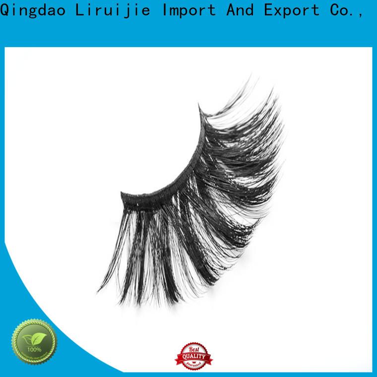 Liruijie false 3d synthetic lashes factory for Asian eyes
