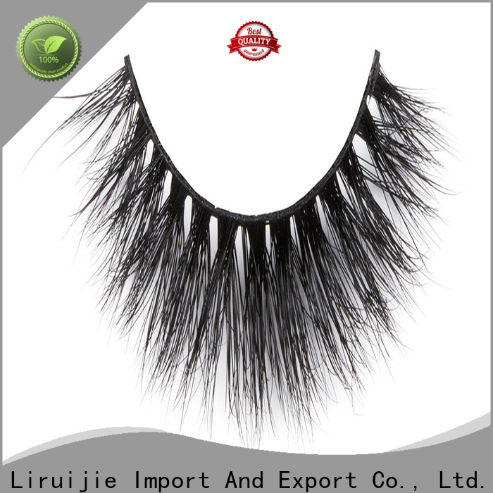 Liruijie New real mink lashes manufacturer suppliers for small eyes