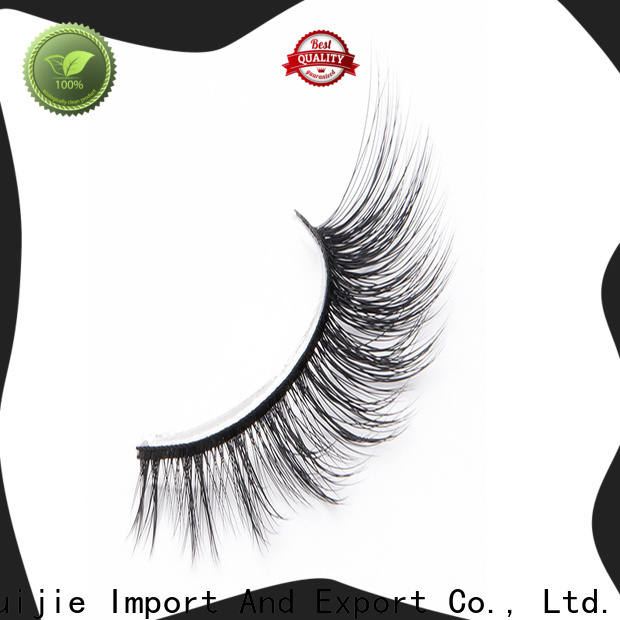 Liruijie faux synthetic mink eyelashes supply for almond eyes