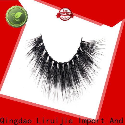 Liruijie Latest synthetic magnetic eyelashes manufacturers for almond eyes
