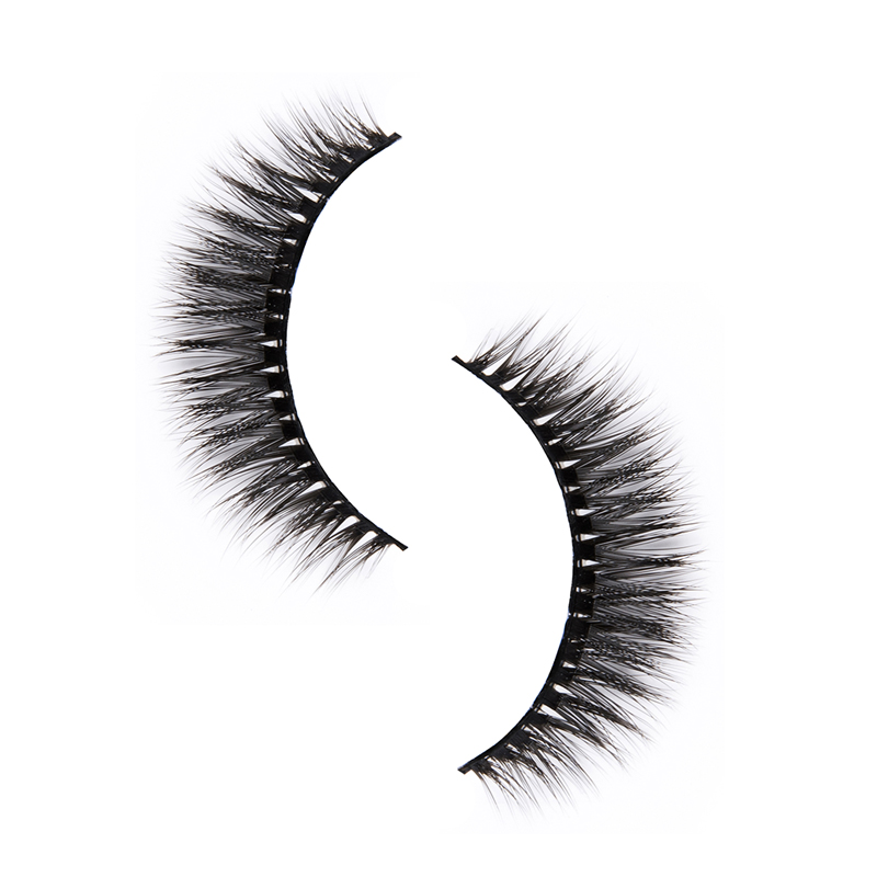 Liruijie fluffy synthetic magnetic eyelashes for business for round eyes-1