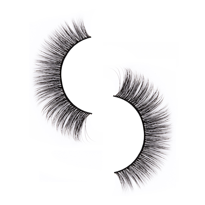 Liruijie fluffy synthetic magnetic eyelashes for business for round eyes-2