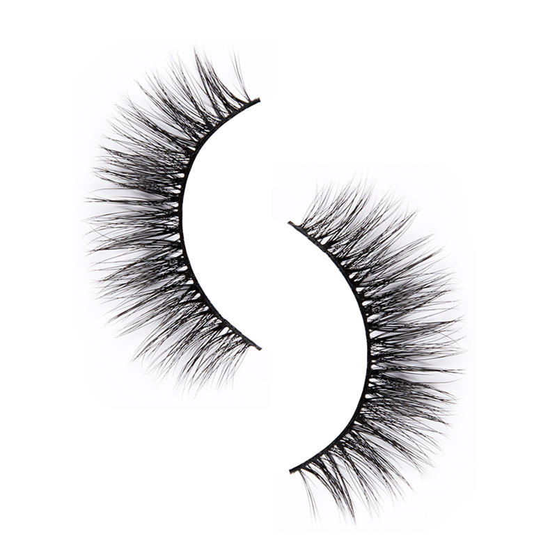 Liruijie fluffy synthetic magnetic eyelashes for business for round eyes-5