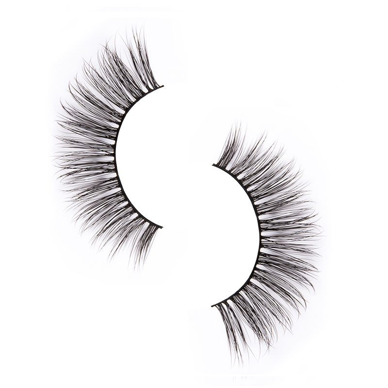 Custom synthetic lashes eyelashes suppliers for round eyes