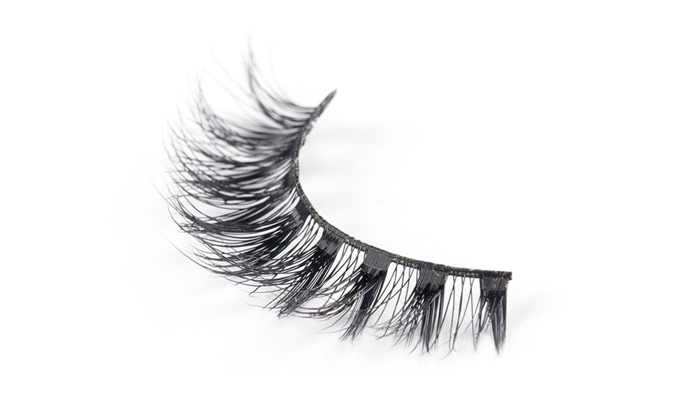 Top synthetic lashes false company for almond eyes-2