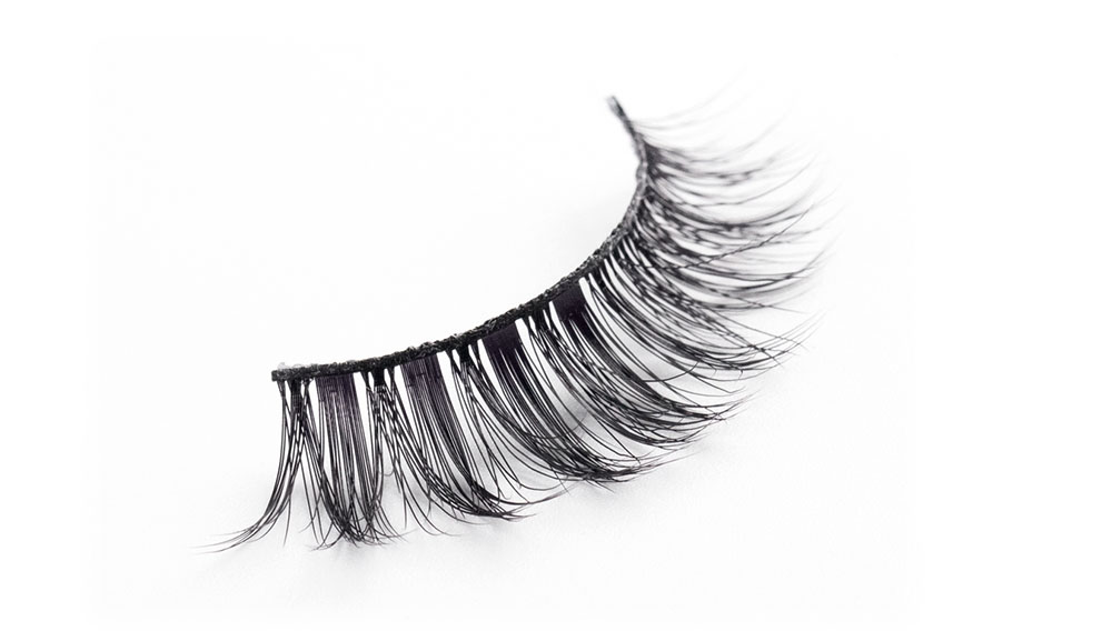 Top synthetic lashes false company for almond eyes-1