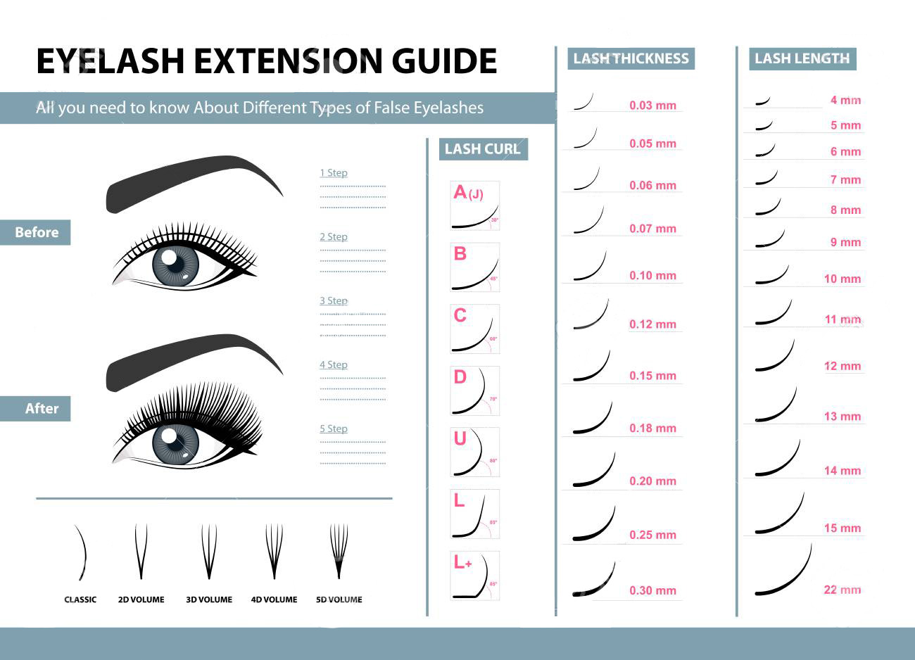 Liruijie extensions different types of lash extensions factory for small eyes-7