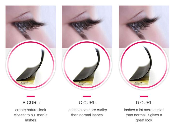 High-quality korean eyelash extensions eyelash for business for beginners-9