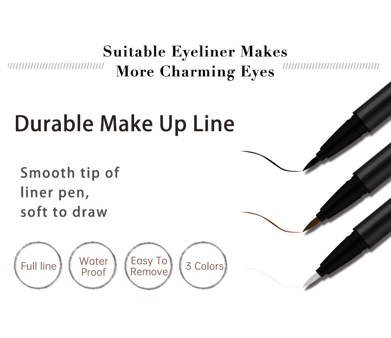 Liruijie liquid best felt pen eyeliner manufacturers for small eyes